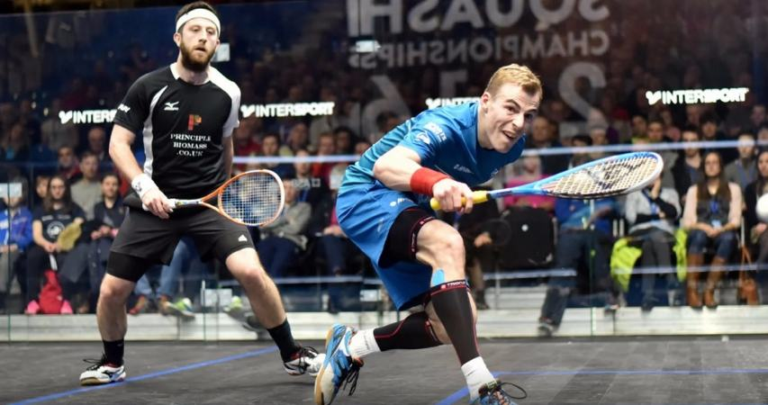 Daryl Selby and Nick Matthew will face each other in the headline match of the night