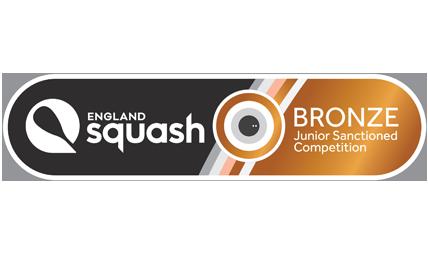 England Squash Bronze events logo