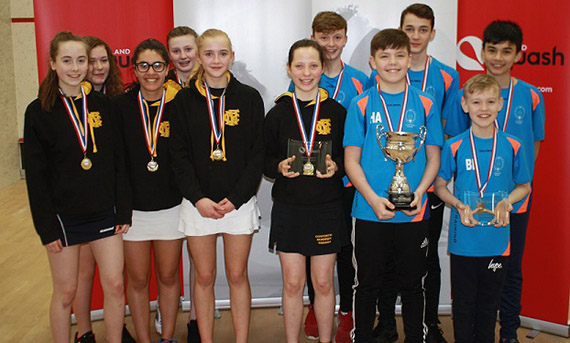 National Schools Championship winners