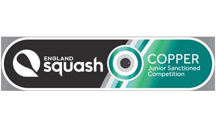 England Squash copper account logo