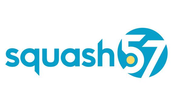 Squash 57 logo