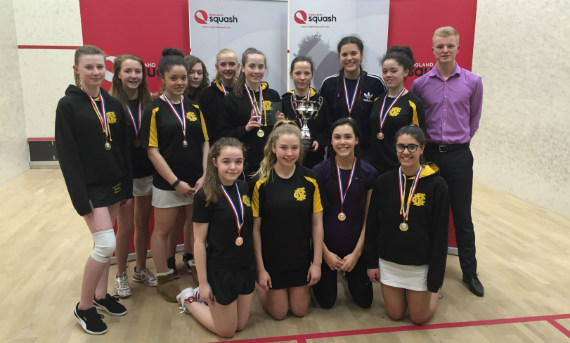 Gosforth Academy at the National Schools Championships