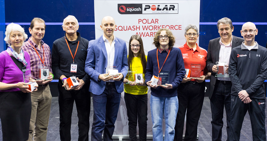 2016 Polar Squash Workforce winners