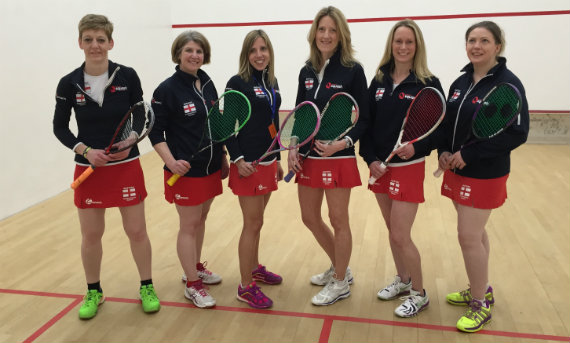 2016 England Women's O35 team