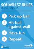Squash 57 rules for beginners