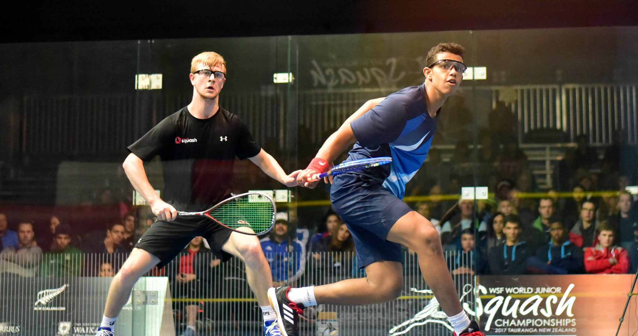 Kyle Finch in action against Mostafa Asal