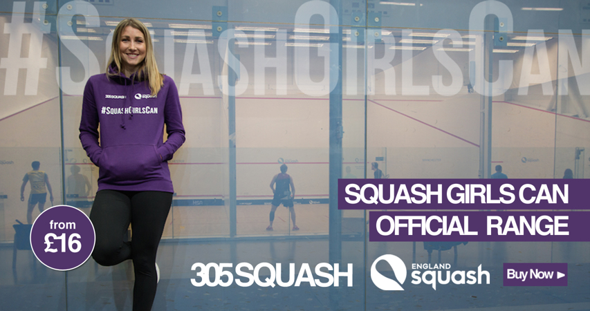 Squash Girls Can kit