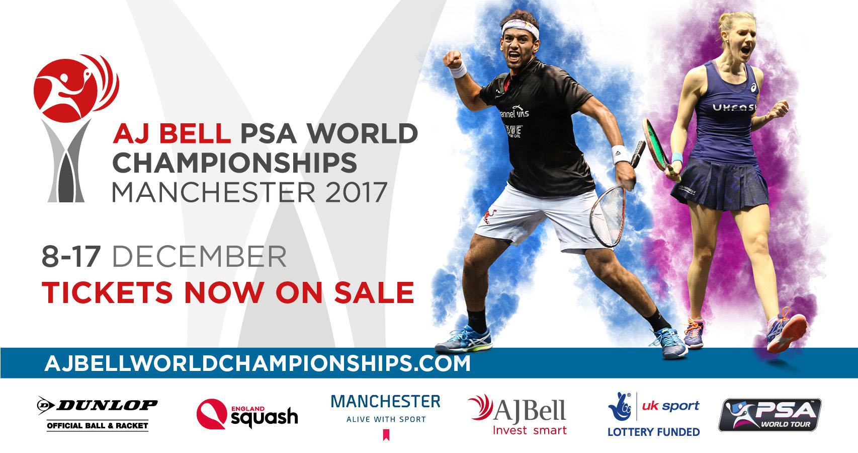 AJ Bell PSA World Championships