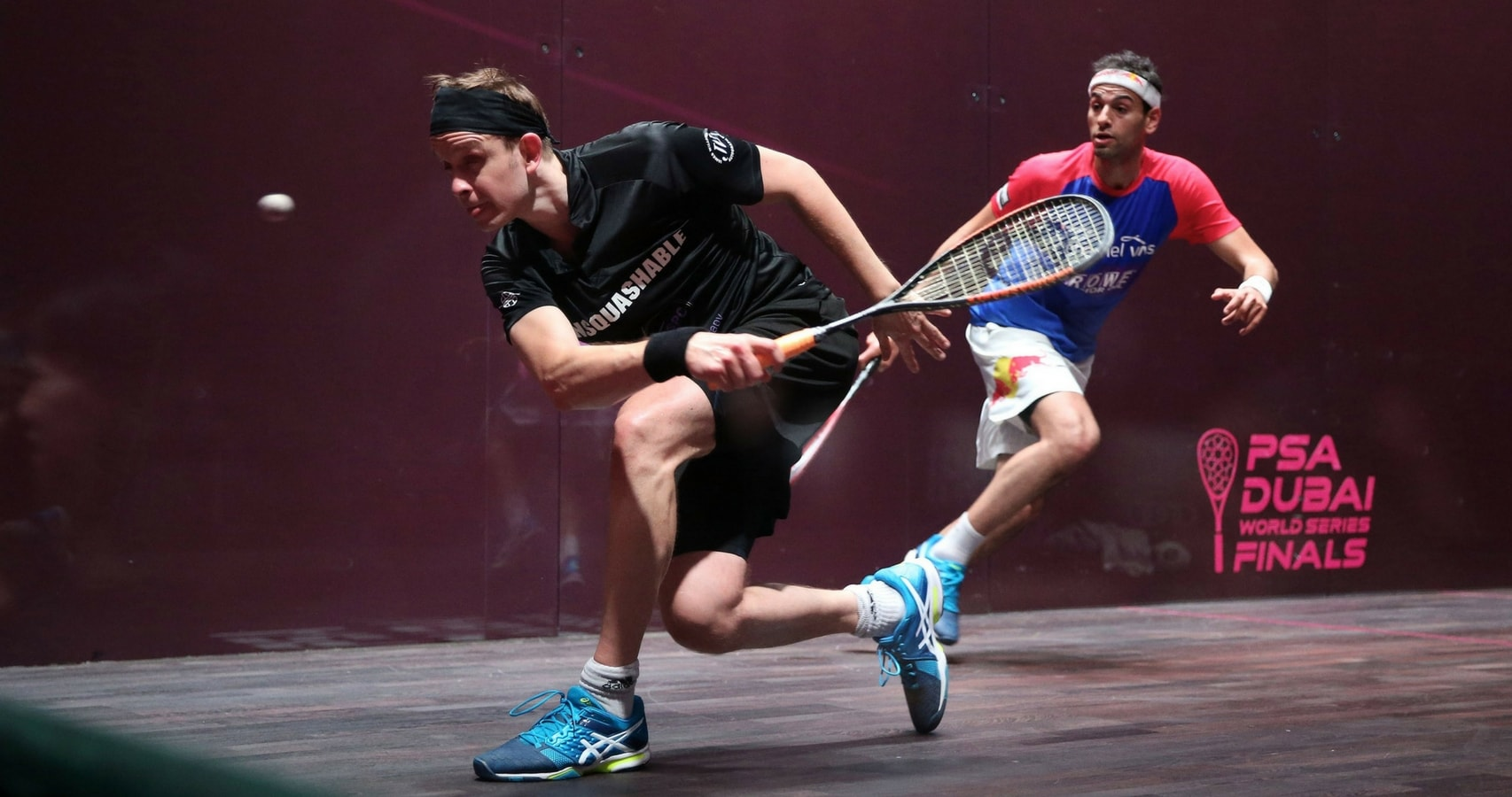 James Willstrop lost to Mohamed ElShorbagy in the final of the World Series Finals in Dubai