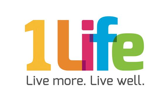1 Life logo