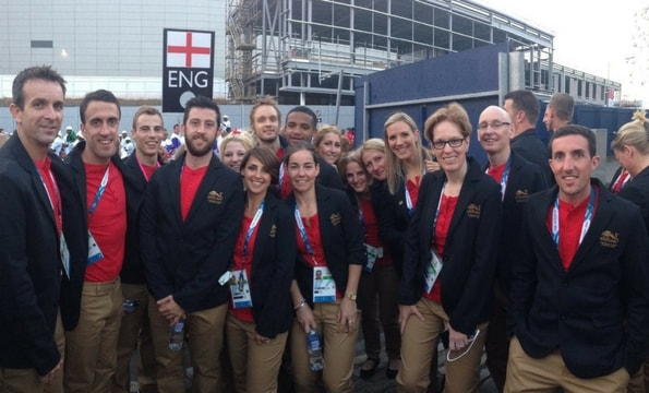 Robbo oversaw great success with Team England at the 2014 Commonwealth Games in Glasgow