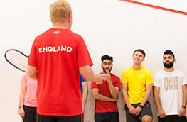 Opportunities at England Squash