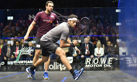 Ramy Ashour and Mohamed Elshorbagy - 2016 ABO final