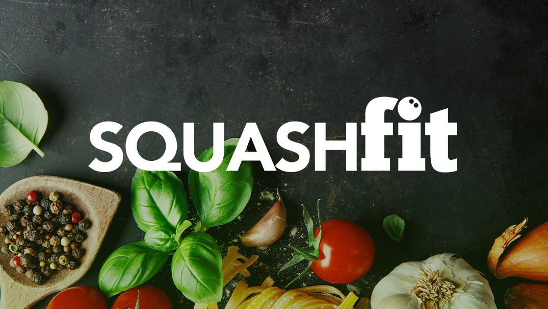 Title image with squashfit logo