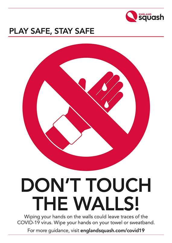 Don't Touch the Walls poster