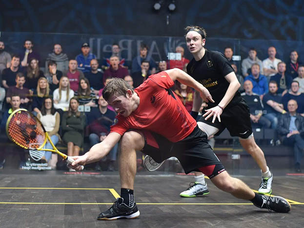 Greg Lobban and James Willstrop