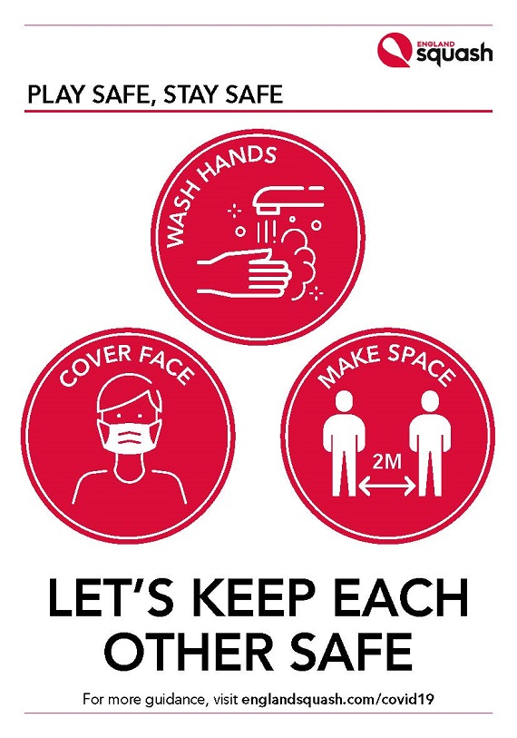 Let's keep each other safe poster