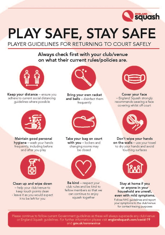 Play safe, stay safe poster