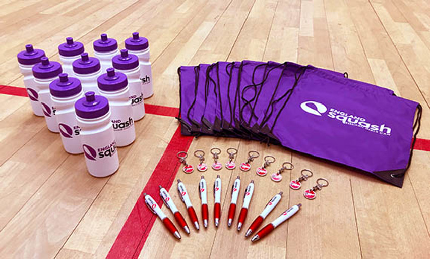 Squash Girls Can giveaways