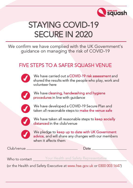 Staying Covid-19 Secure In 2020 poster