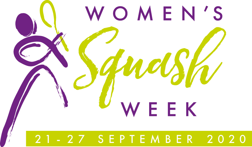 Women's Squash  Week logo