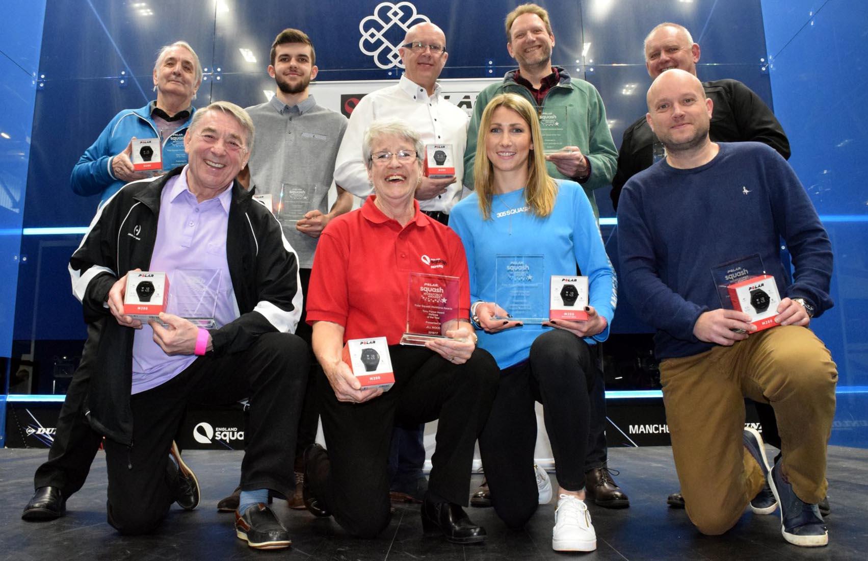 Polar Squash Workforce Award 2016 winners