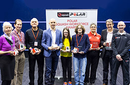 The 2016 Polar Squash Workforce Award winners
