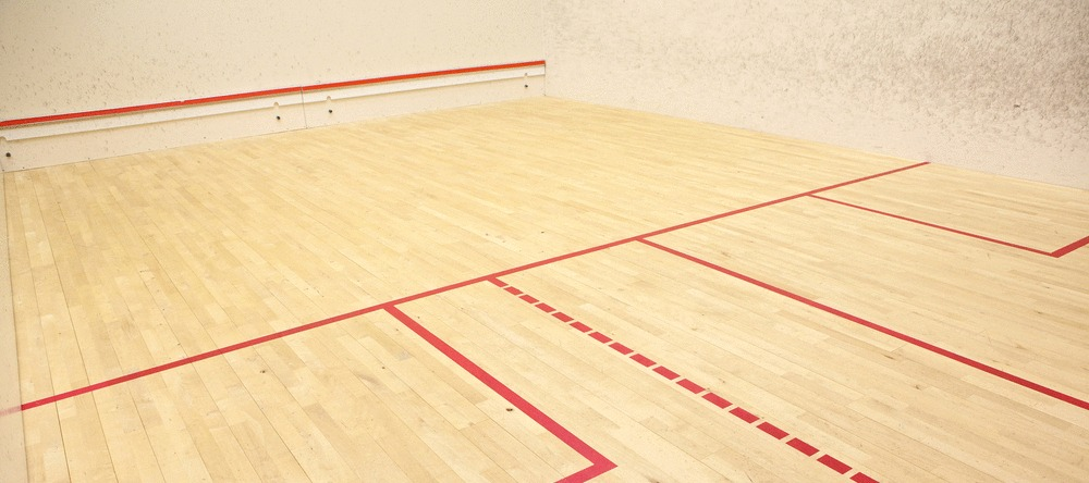 Image of a squash court