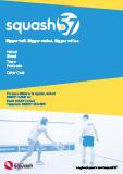 Squash 57 editable poster