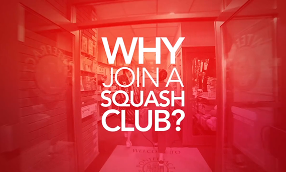 why join a squash club video