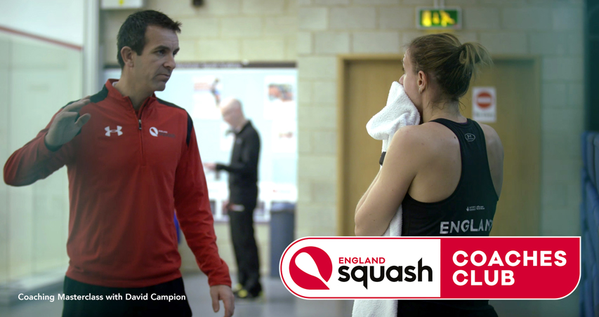 Still from Coaching Masterclass with David Campion