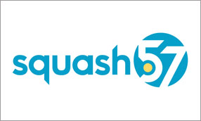 Squash 57 colour logo