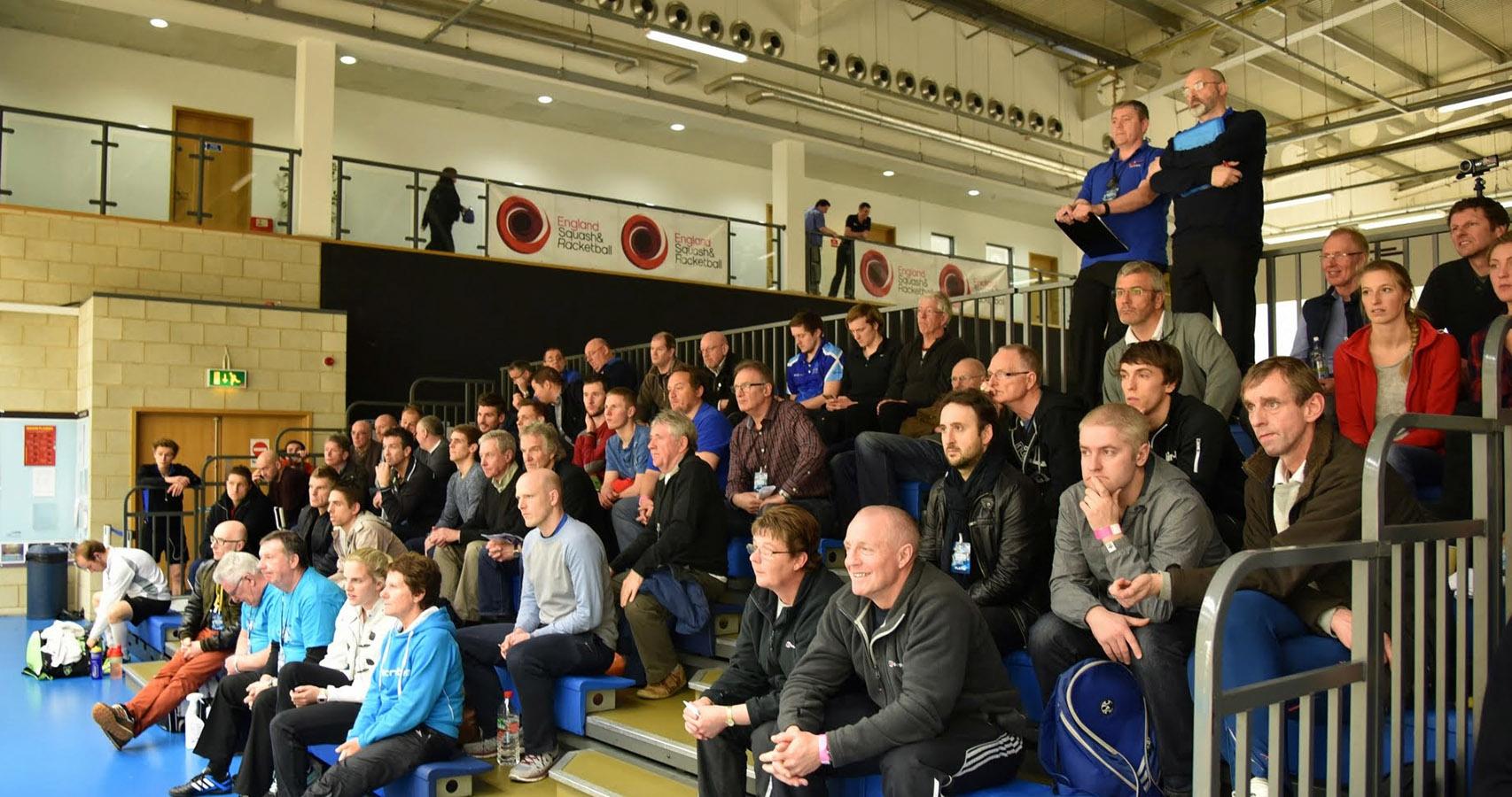 Referees at the National Squash Championships
