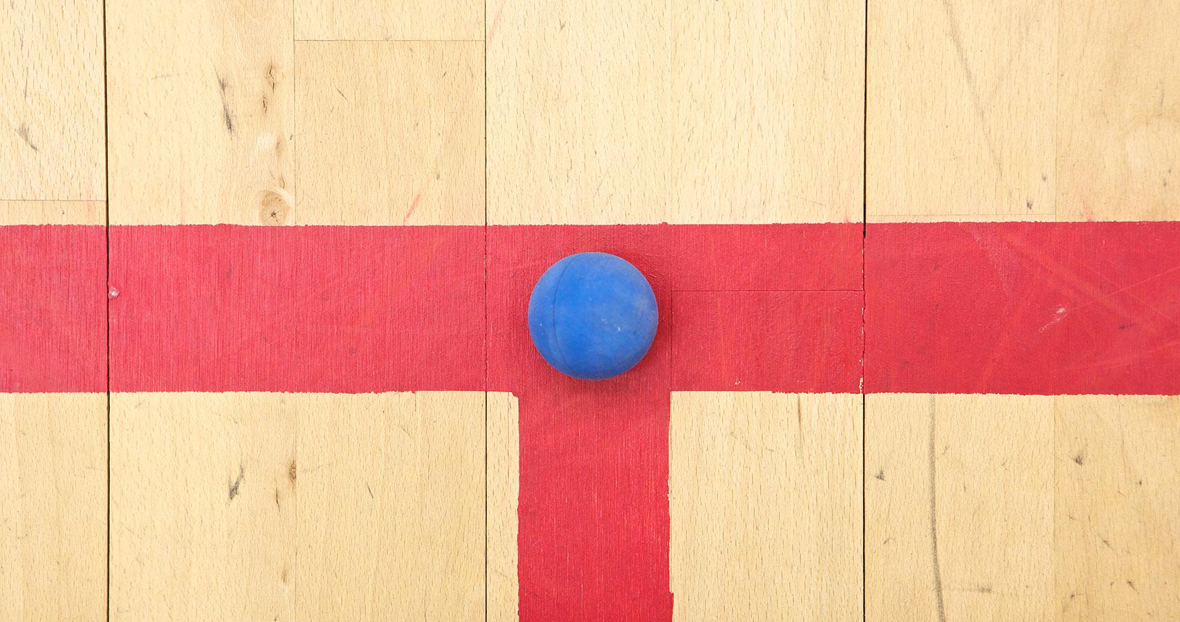 A squash court