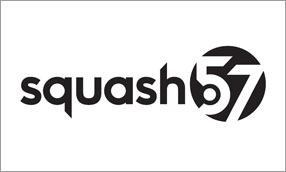 Black Squash 57 logo