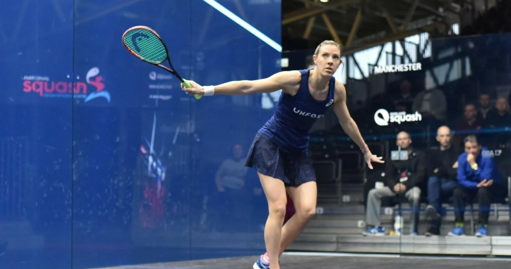 Laura Massaro won her first Allam British Open in 2013